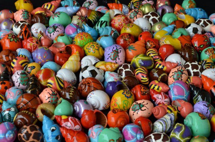 Mixed Painted shells