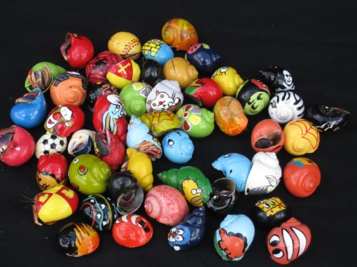 Medium Hermit Crab in Painted Shells (Specialty)