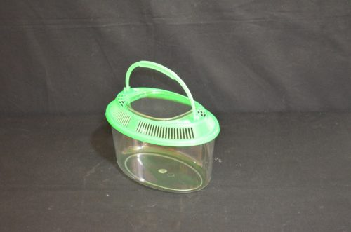 Oval plastic terrarium, small